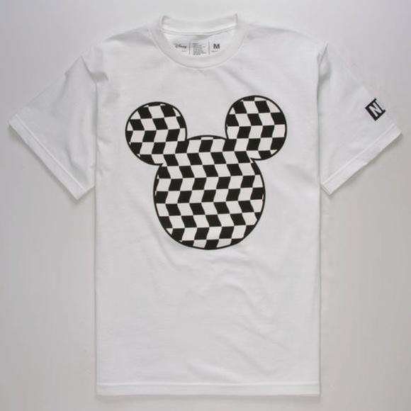 74dd64a7dc NEFF Disney Mickey Mouse Vans Checkered T-Shirt